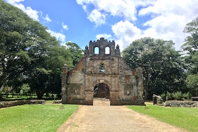 catholic church ruins