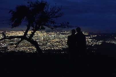 sunrise hike over san jose